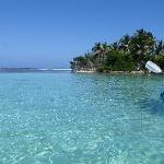 Kyaking around the island