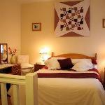 Our delightful ensuite bedroom