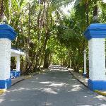 L'entrée vers le Marazul
