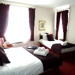 Our lovely spacious room
