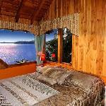 Gran vista desde uno de los dormitorios