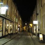 Queen Street at night