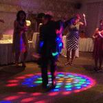 Plenty of room for dancing