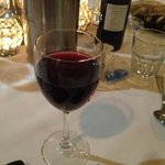 A great glass of red