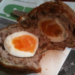 the amazing Salamander scotch egg