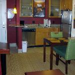 Corner Room Kitchen
