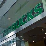 The big Starbucks sign