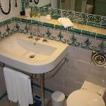 Bathroom sink.