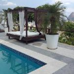 View from the pool area, Rio 180