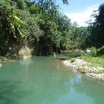 River that runs through sun camp
