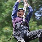 Ziplining in North Dakota!