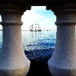 Jose Gaspar pirate ship from Bayshore Blvd.