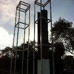 Twin Towers Memorial on Bayshore Blvd.