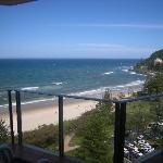 Our southern view to Burleigh Headlands