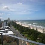 Our northern view to Surfers Paradise