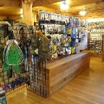 Poles, fly line, fly tying materials