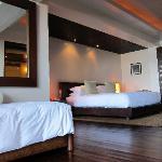 poolside oceanfront suite bedroom