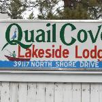 Quail Cove sign