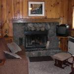 Cabin #3 - Living room