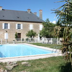 Accommodation, pool and garden