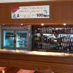 well stocked bar, and check out the offer!
