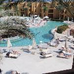 Le piscine nel resort