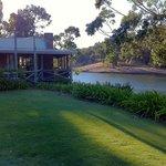 restaurant overlooking the dam