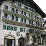 The hotel exterior