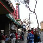 Line outside about 5:30 pm