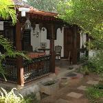 Motty and Lali's verandah