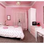 PINK Bedroom with private bathroom