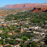 St. George City Aerial