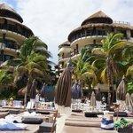 EL Taj - View from beach