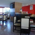 Restaurante y buffet matutino