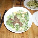 Caesar Salad is a favorite of mine and it was quite tasty here.