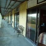Surfside front verandah