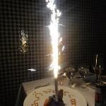 Birthday surprise at Palais Amani