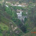 El Santuario desde el Mirador.