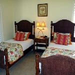 the twin bedded 3rd bedroom