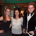 dancers and manageress