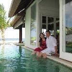 nice villa to take aa pree wedding photos