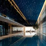 Indoor Heated Pool with Starlight