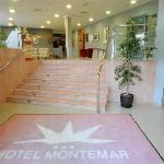 Entrada del Hotel Montemar