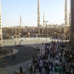 Haram view from restaurant