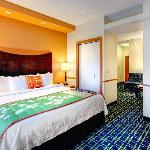 Treat yourself fo a King suite guest room