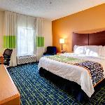 Your king room is beautifully appointed