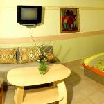 Doppelzimmer in Gartenvilla