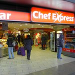 Chef Express - great coffee and pastries stop