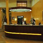Entrance of Hotel Adria