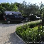 Campsite plots at Ulika Rovinj